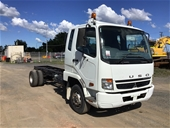 Unreserved 2009 Mitsubishi FK 600 4 x 2 Cab Chassis Truck