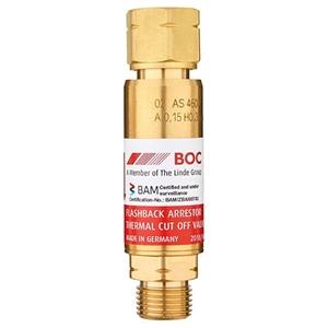 BOC Standard Flow Regulator End Fuel Gla