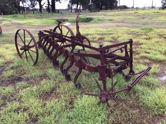 Vintage Mouldboard Single Farrow Plough