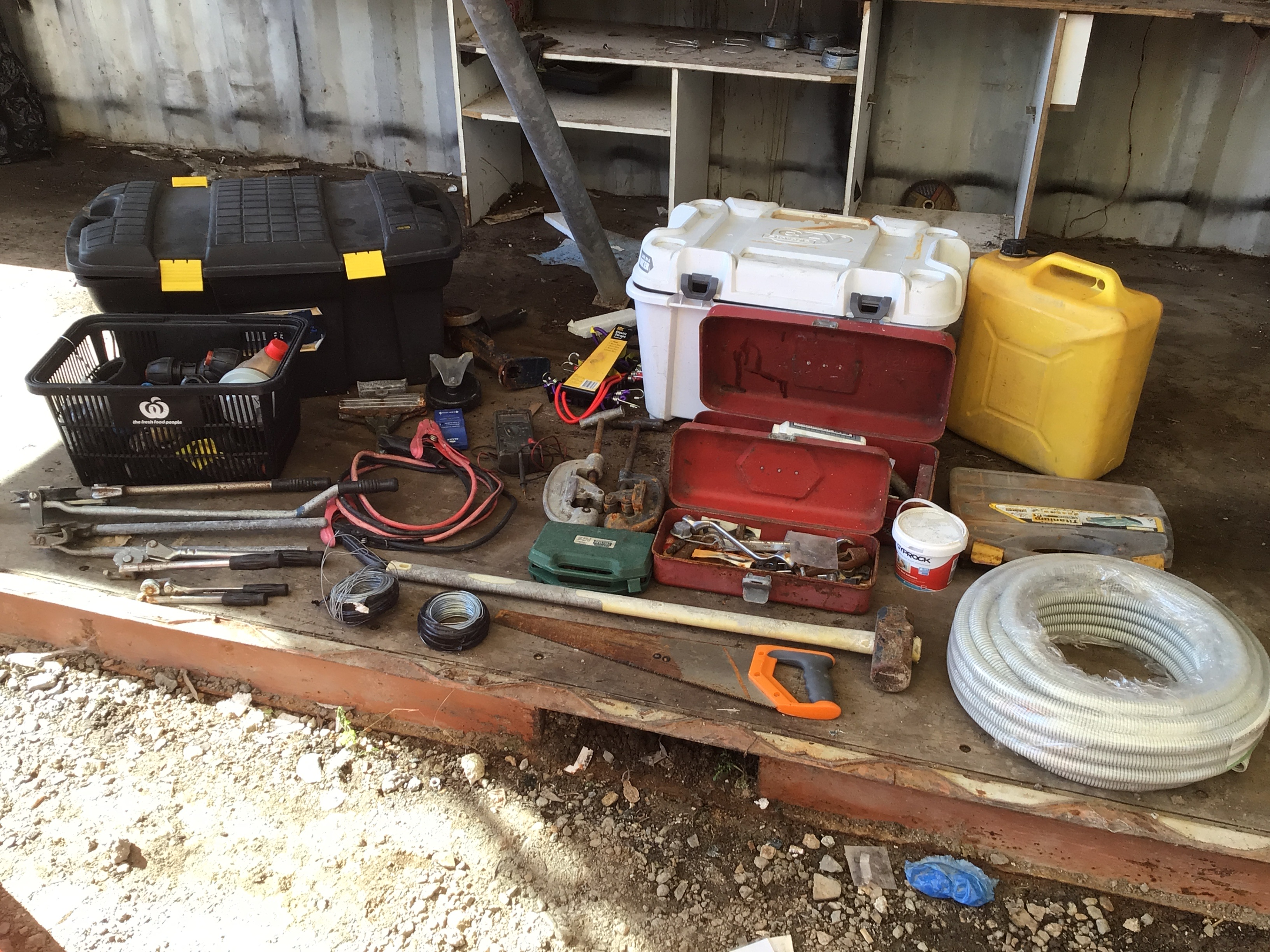 Large Quantity Various Hand Tools plus Other Various Items