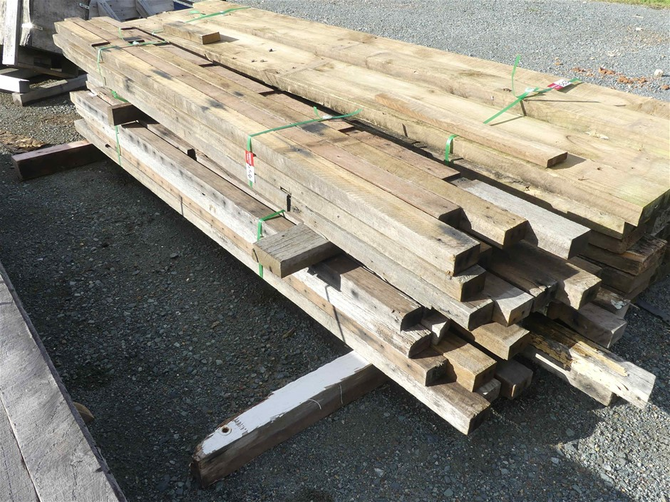 2 x Bundles of Recycled Hardwood Timber