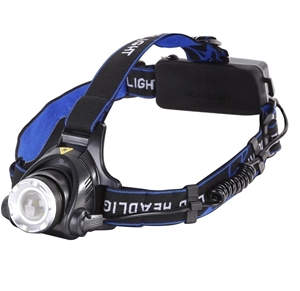 High Powered Rechargeable Head Lamp c/w