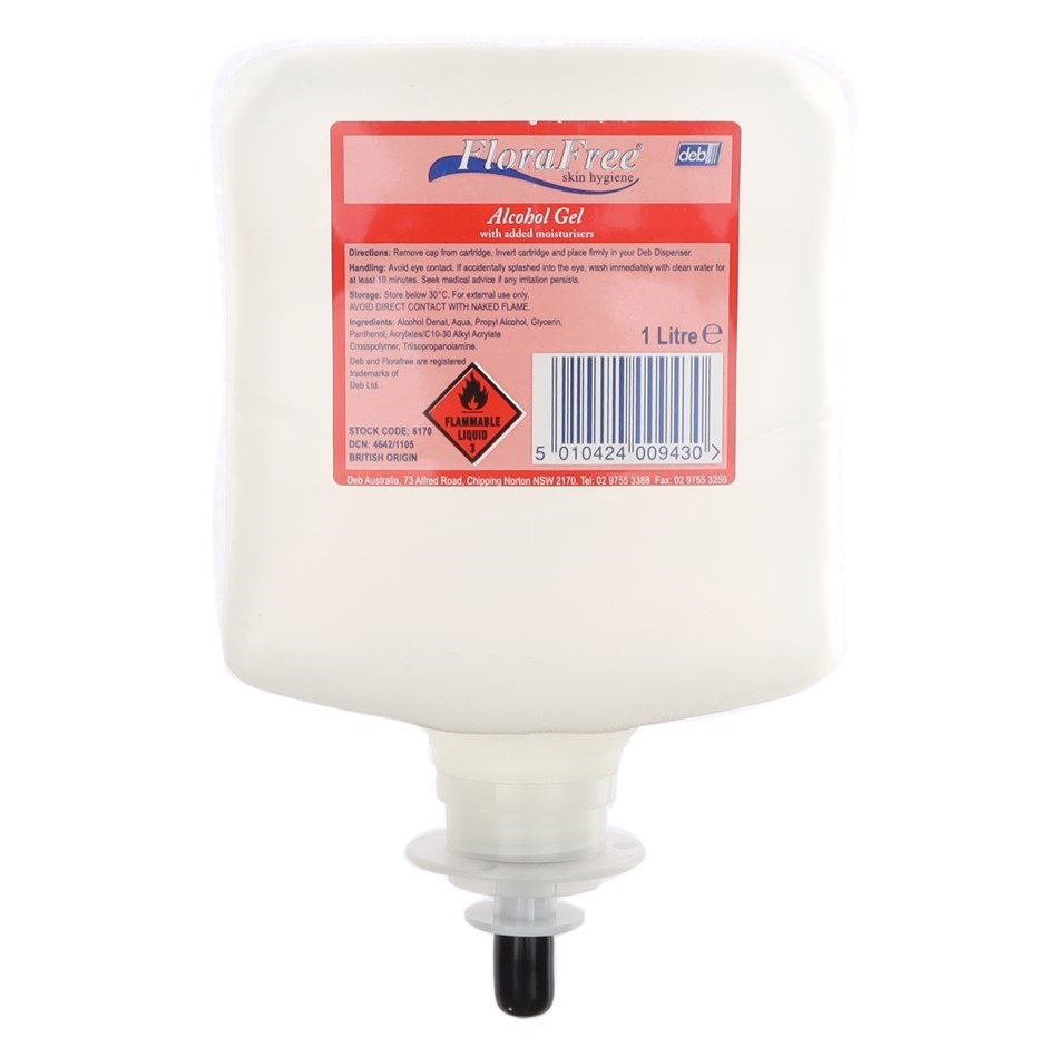 DEB 1L Flora Free Skin Conditioning Cream. (SN:CW5817) (281722-345)
