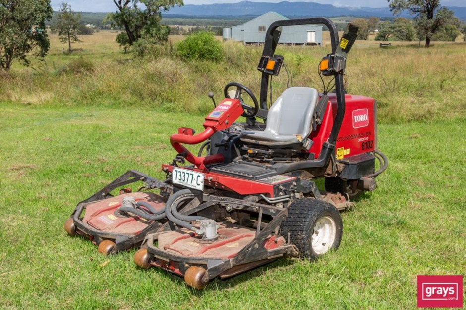 Toro, Groundsmaster 3500 - D, Ride On Mower