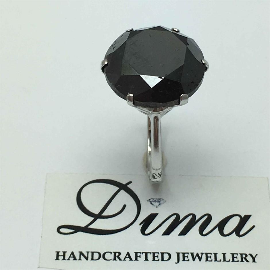 9ct White Gold, 18.60ct Diamond Ring