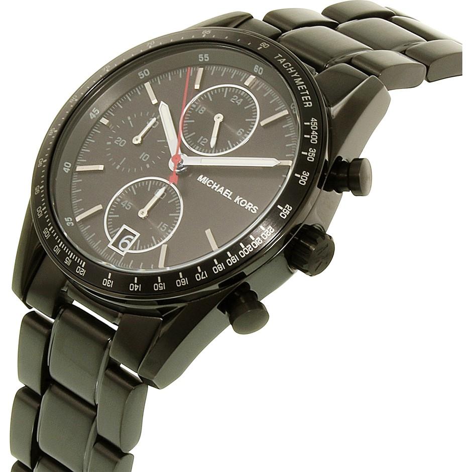 Mens new Michael Kors Couture NY quartz chronograph masculine watch.