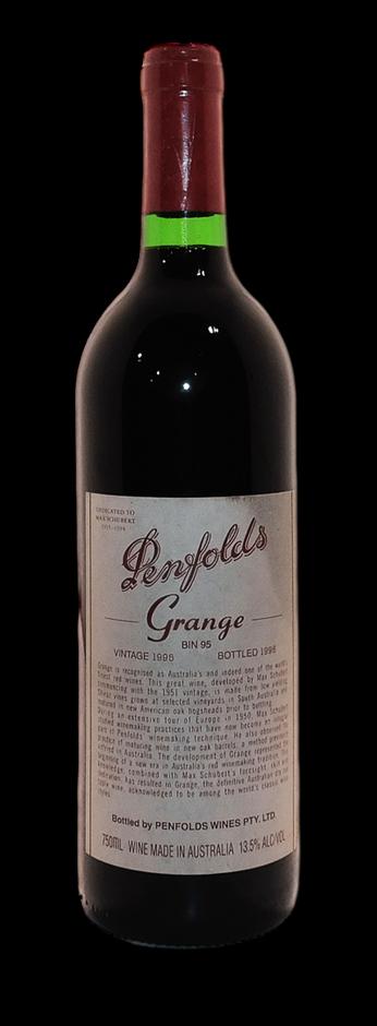 Penfolds Bin 95 Grange 1995 (1x 750mL), SA