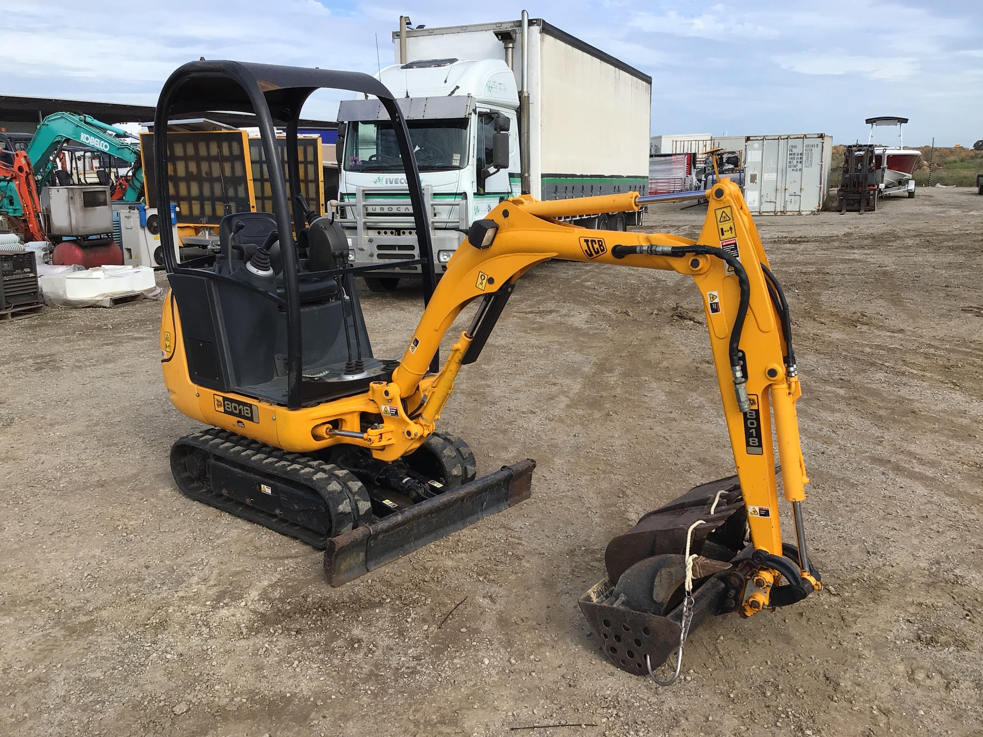 JCB 8018 Mini Excavator