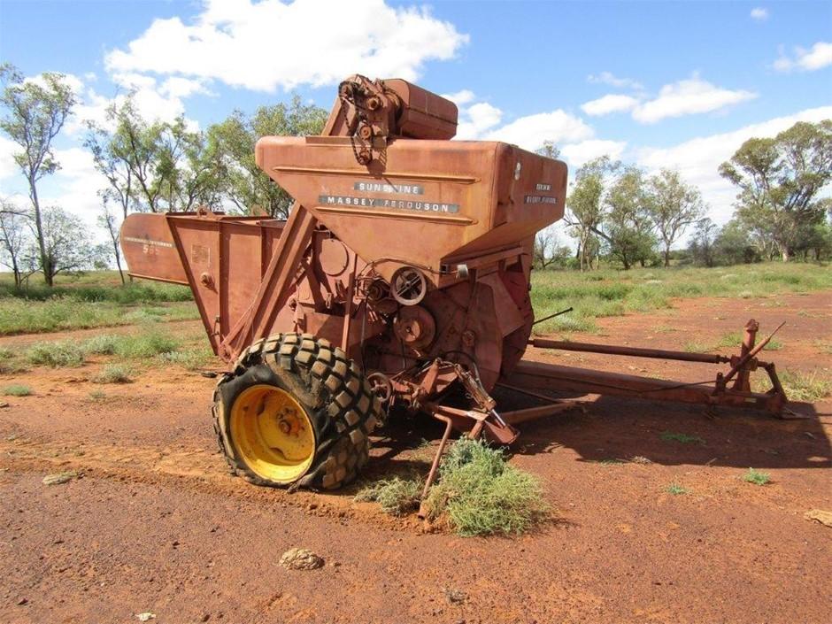 Sunshine Massey Ferguson PTO Driven Header