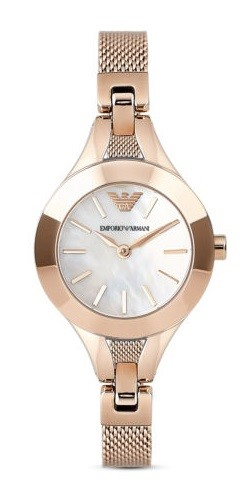 Stylish new Mother of Pearl Emporio Armani Ladies Watch