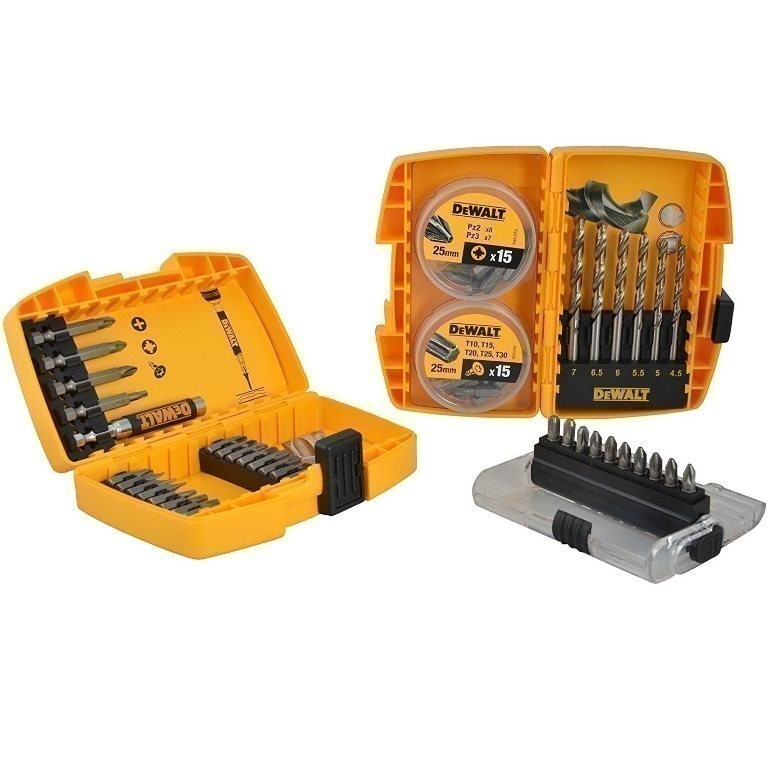 DeWALT 67pc Drill & Bit Set. Buyers Note - Discount Freight Rates Apply to