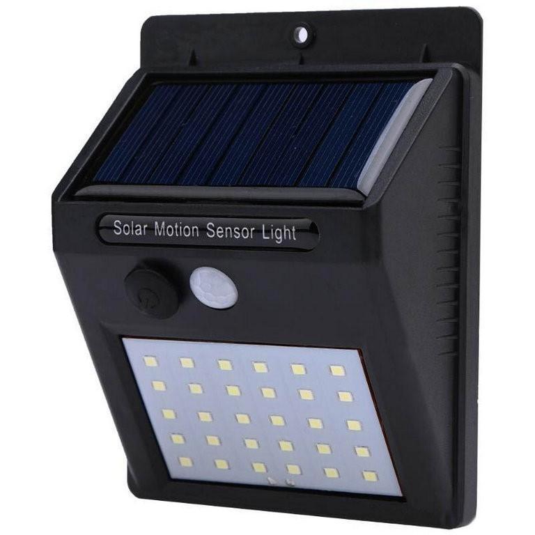 2 x LED Solar Motion Sensor Light 30LEDs PIR CDS Motion Angle Distance 120