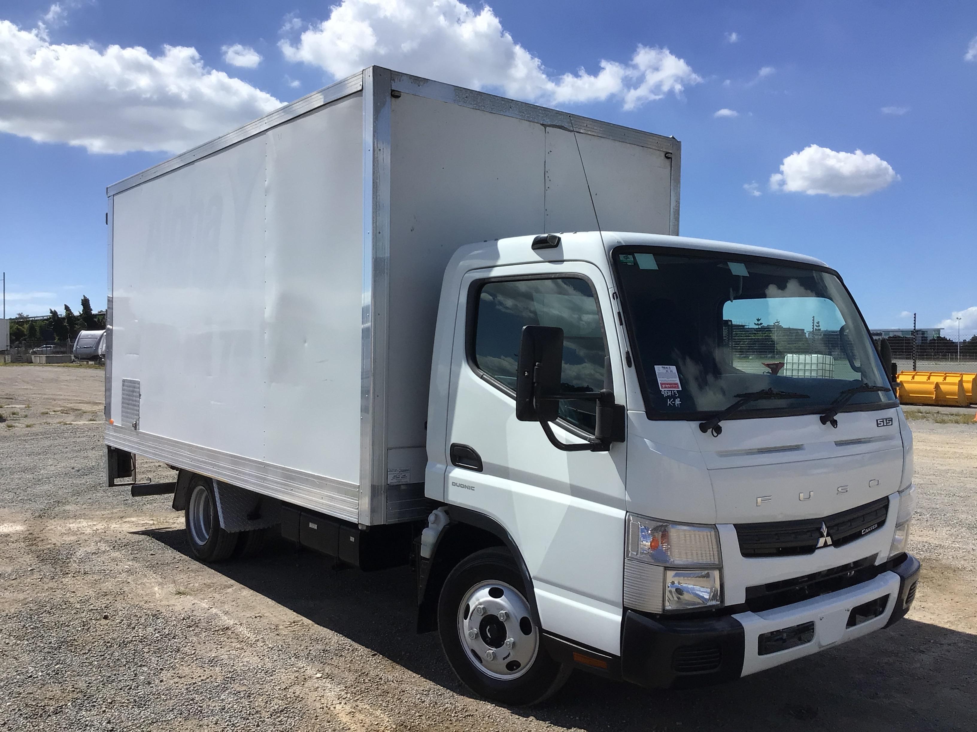 2015 Mitsubishi Fuso Canter 515 Auto Pantech Truck Tailgate Loader