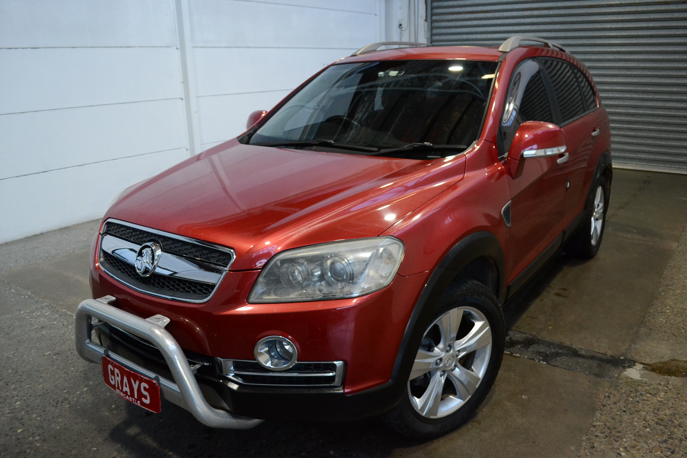 2008 Holden Captiva LX (4x4) CG Turbo Diesel Automatic 7 Seats Wagon