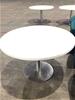 3 x Large White Café Table