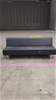 Black Couch, 2100L x 700W