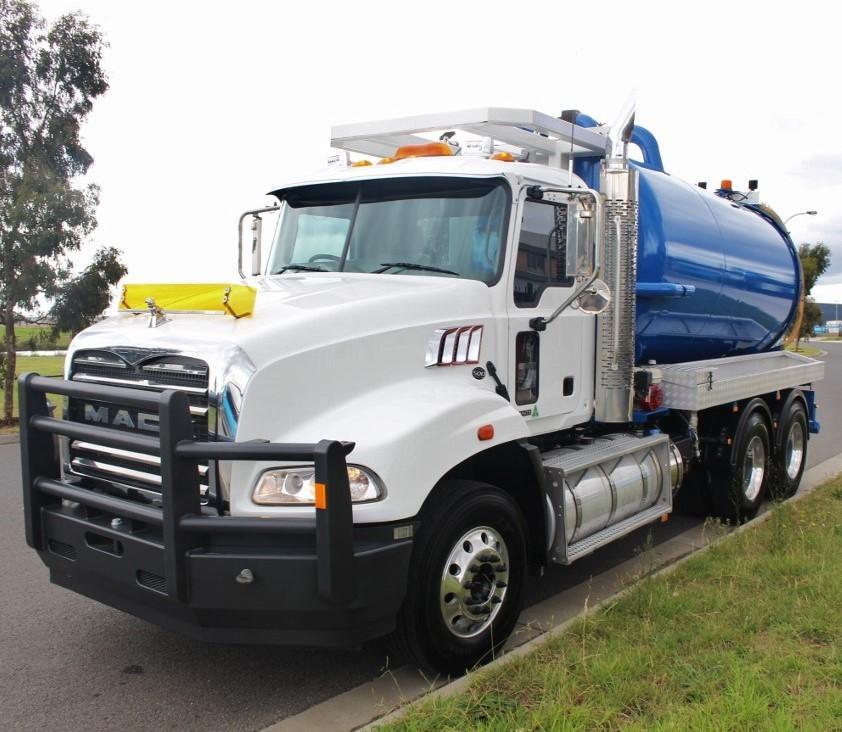 2019 Mack Granite 6 x 4 Vacuum Truck 500HP 54,710kms