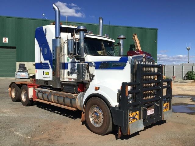 2011 Kenworth T909 6 x 4 Prime Mover Truck - GCM: 160,000 kg
