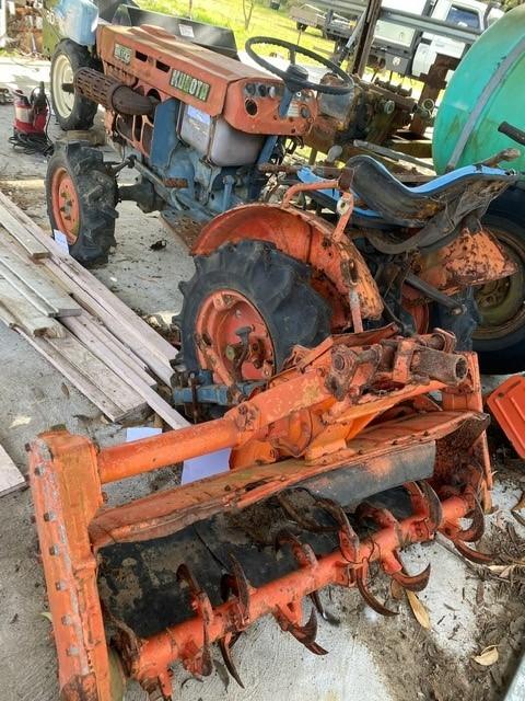 Kubota Tractor, White