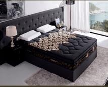 Queen Black Edition AIRSOFT Mattress - C