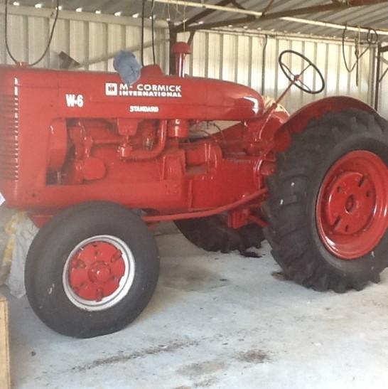 1960s w6 McCormick International Tractor
