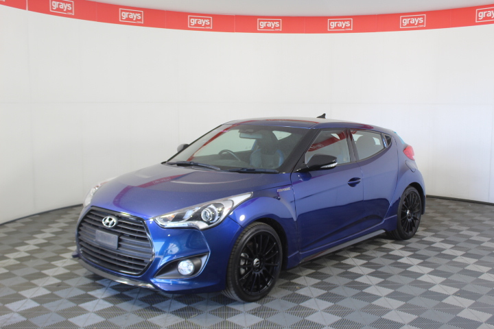 2016 Hyundai Veloster Street Turbo FS5 Series 2 Auto Coupe 64,542 kms