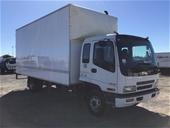 Unreserved 2003 Isuzu FRR500 4 x 2 Pantech Truck