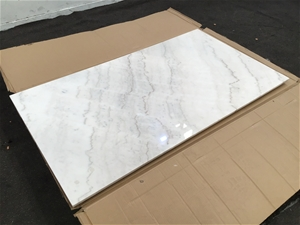 Marble Table Top W/Timber Backing