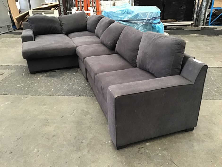 Shaw 6 Seater Sofa with Sofa Bed and Chaise