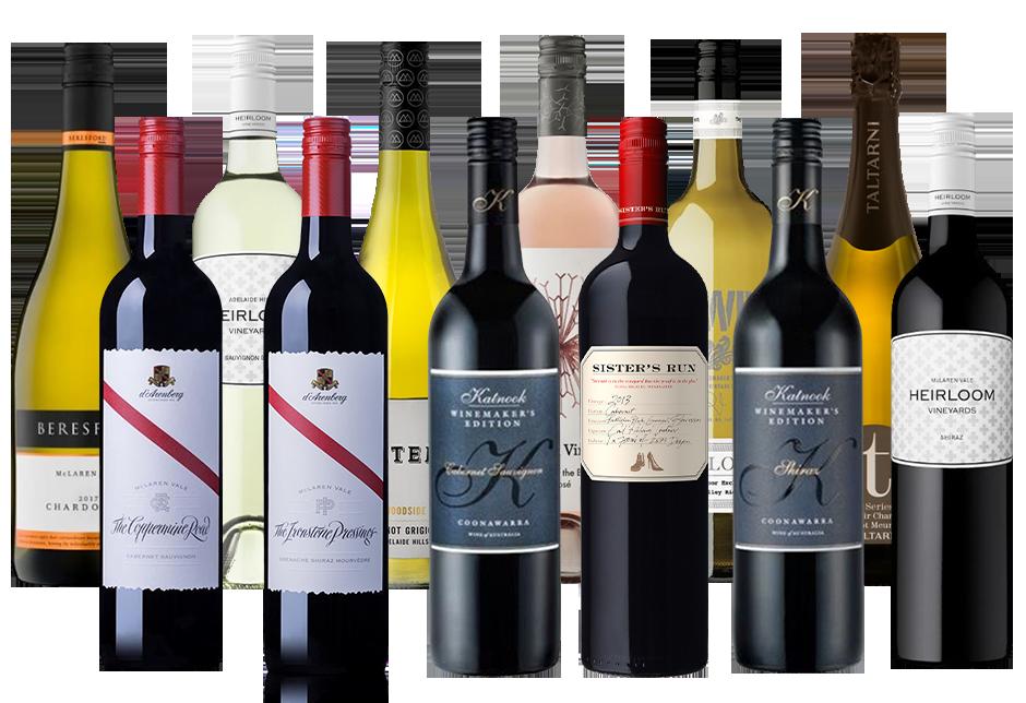Wine Advisors Choice Mixed Dozen (12x 750mL) Mixed Regions