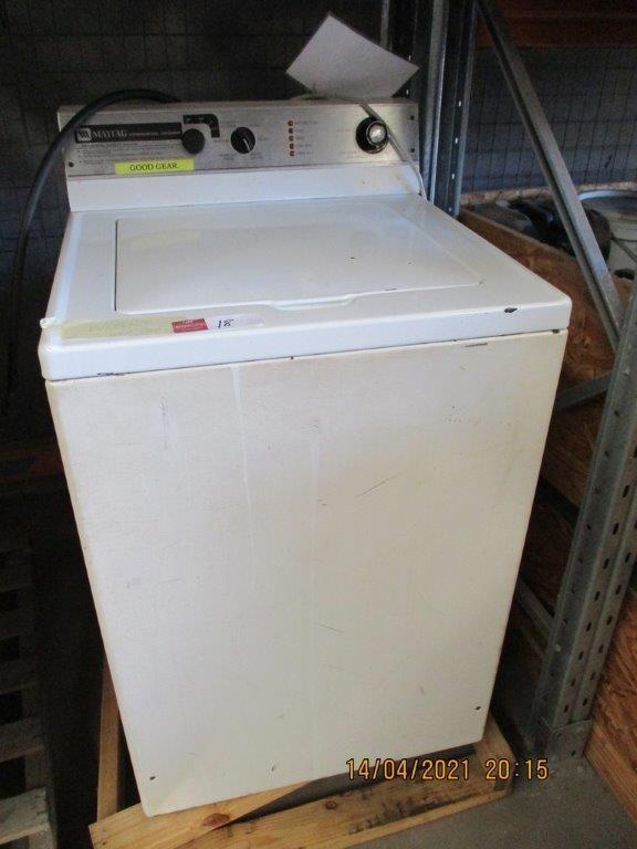 2x Maytag Washing Machines (Working)
