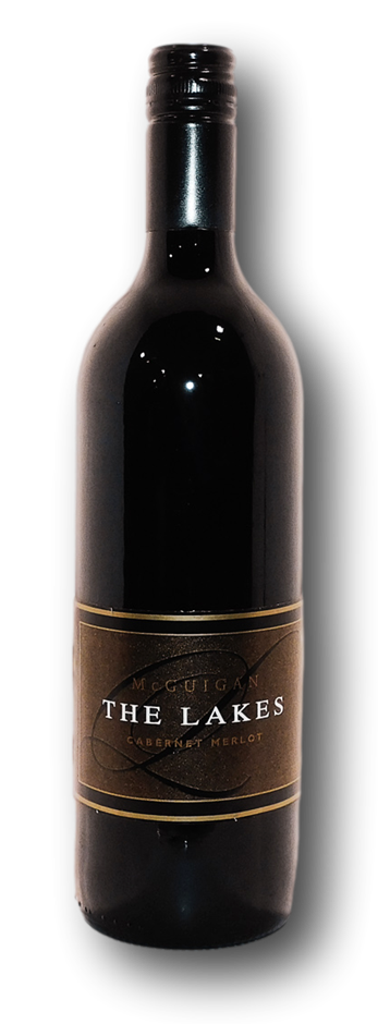 McGuigan Brothers The Lakes Cabernet Merlot 2004 (6x 750mL), Hunter Valley