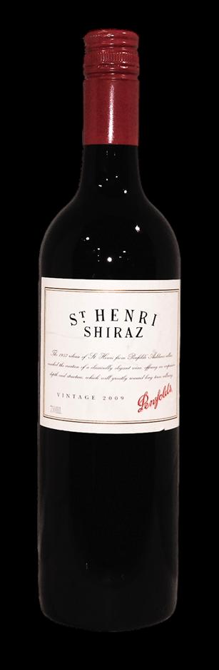Penfolds St Henri Shiraz 2009 (1x 750mL), SA