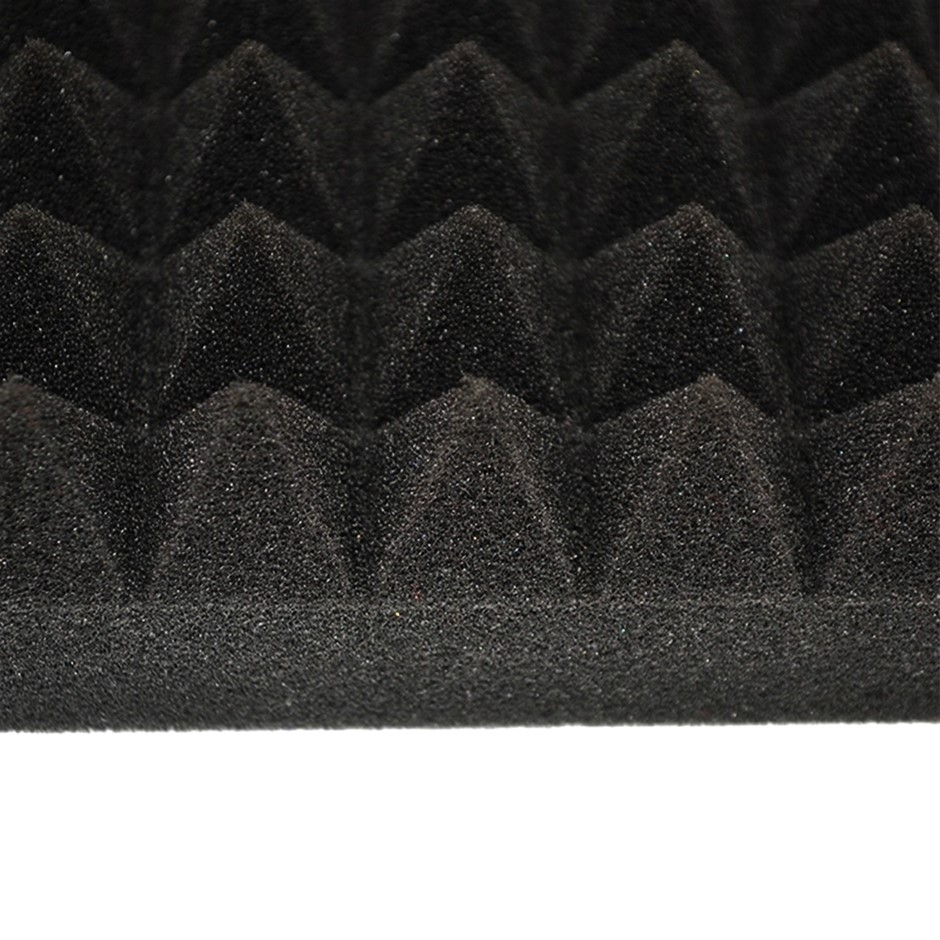 60cm Sound Proofing Absorption Panel Acoustic Pyramid Foam 12 PCS