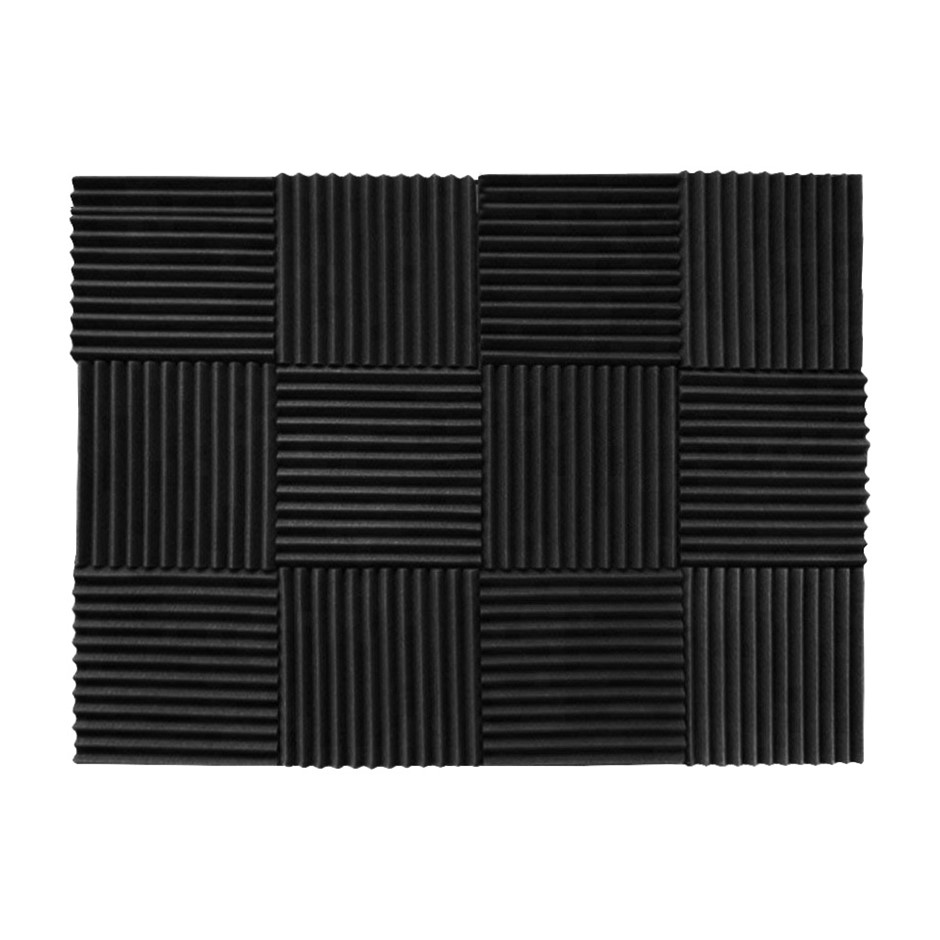 Studio Acoustic Foam Home Audio Sound Absorption Noise Proofing Tiles