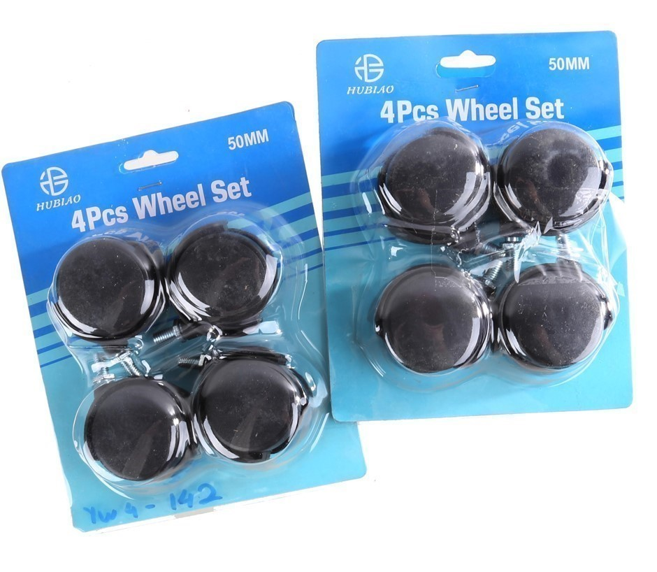 2 Sets of 4 x Castor Wheels 50mm. Buyers Note - Discount Freight Rates Appl