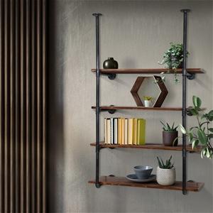 Artiss Industrial DIY Pipe Shelf Rustic