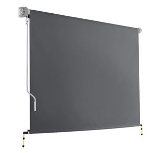 Instahut 2.7m x 2.5m Retractable Roll Do