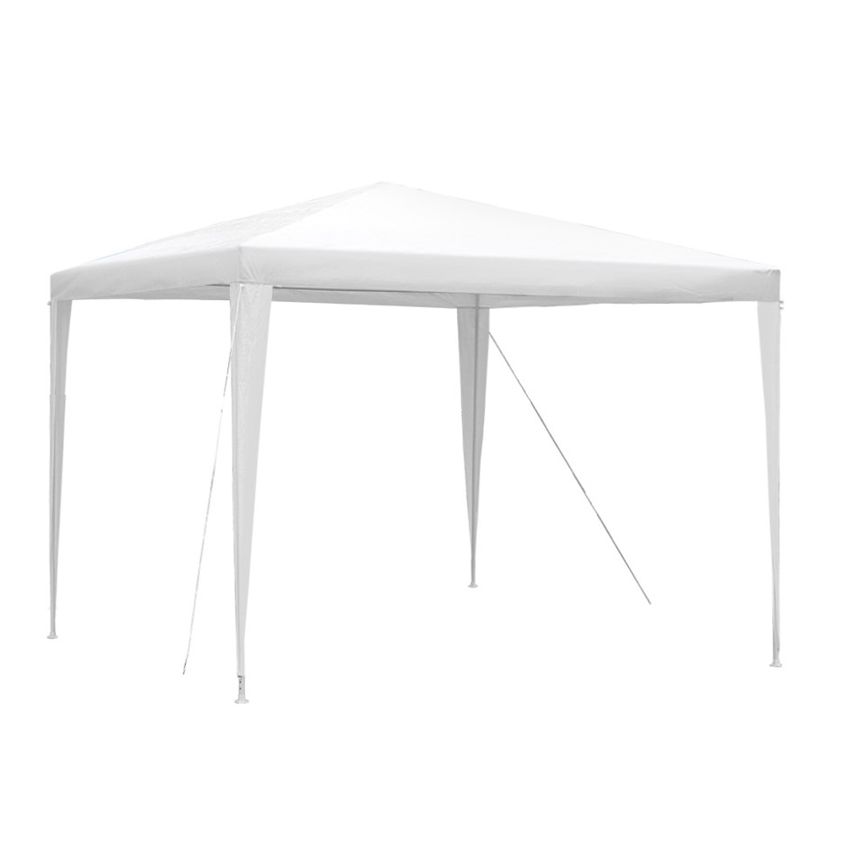 Instahut 3x3m Gazebo Tent Party Wedding Event Marquee Canopy Camping White