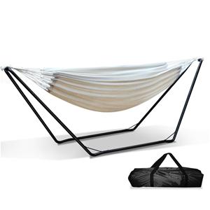 Gardeon Hammock Bed with Steel Frame Sta