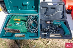 2x Assorted Hand Power Tool
