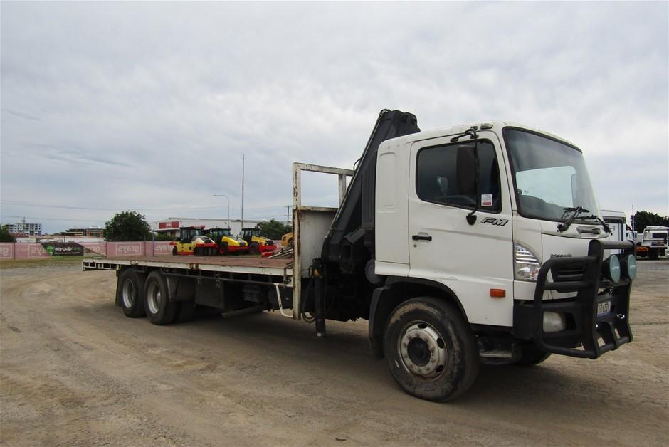 2007 Hino FM1J 6 x 4 Tray Body Truck