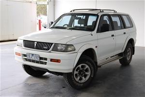 1998 Mitsubishi Challenger (4x4) PA Manu