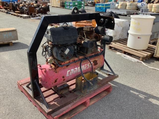 Conquest Diesel Powered Compressor