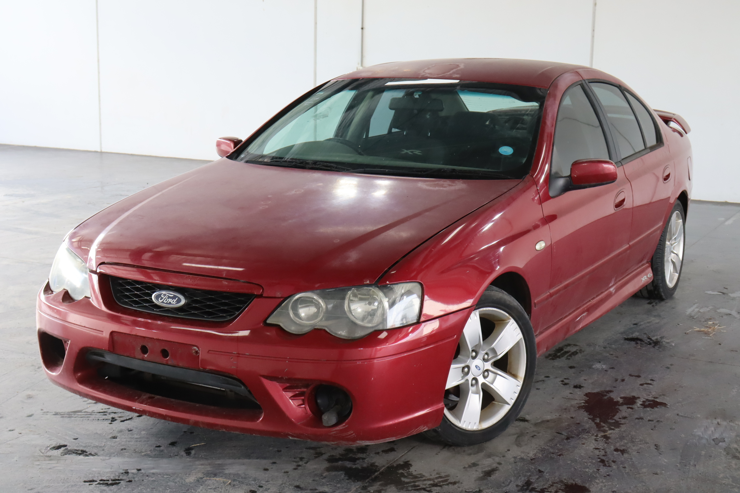 2006 Ford Falcon XR6 BF MKII Automatic Sedan (WOVR Inspected)
