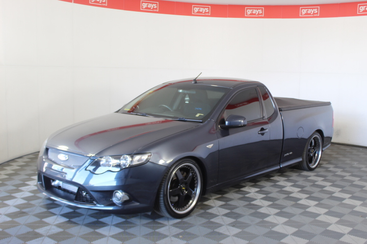 2011 Ford Falcon XR6T FG Automatic Ute(WOVR+INSPECTED)