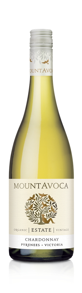 Mt Avoca Estate Chardonnay 2019 (12x 750mL). Pyreness