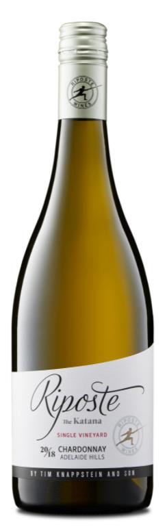 Riposte Katana Chardonnay 2018 (12x 750mL). Adelaide Hills