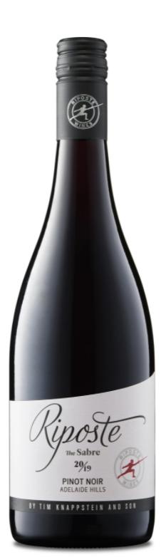 Riposte Sabre Pinot Noir 2019 (12x 750mL). Adelaide Hills