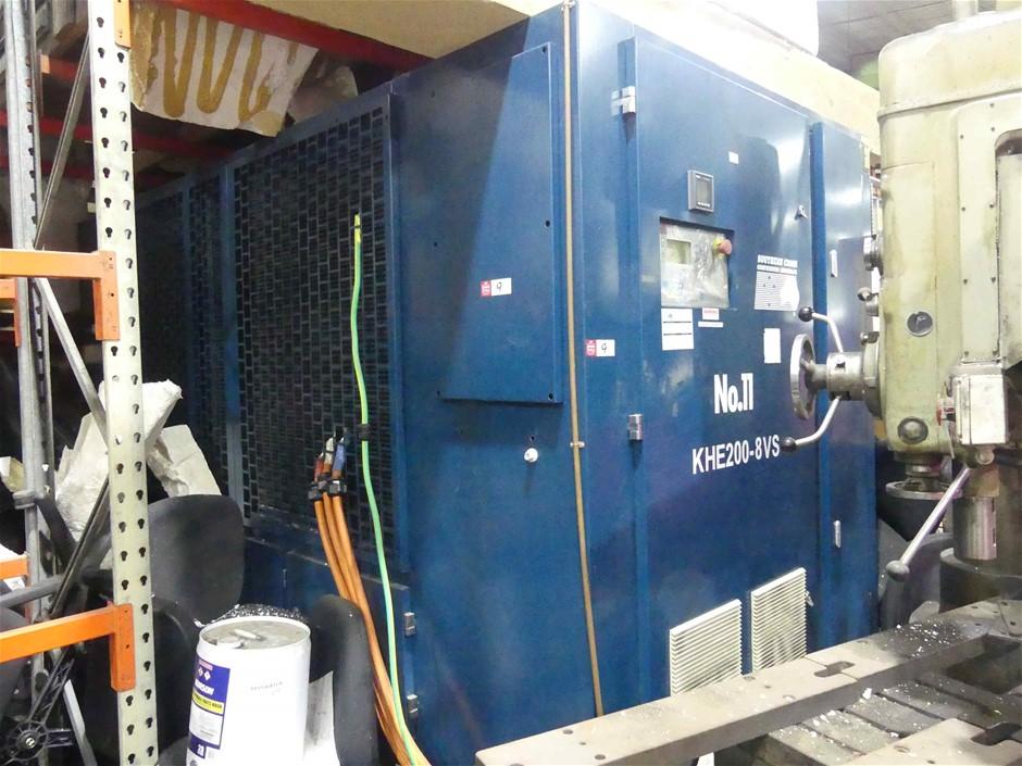 2013, Southern Cross Compressors, KHE200-8VS, Direct Drive Screw Compressor